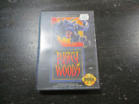 Sega Genesis Risky Woods Video Game Action Adventure Original Case Box