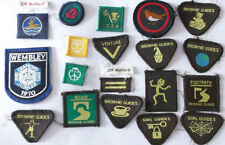 Cloth 1970s Collectable Scout & Guide Badges