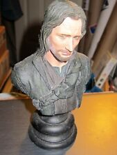 LORD OF THE RINGS FELLOWSHIP ARAGORN SON OF ARATHORN Sideshow Weta bust