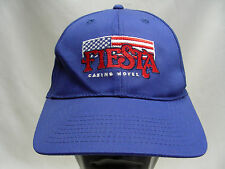 FIESTA CASINO HOTEL - ROYAL BLUE - ADJUSTABLE BALL CAP HAT!