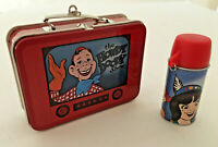 Vintage Hallmark Keepsake Mini Lunchbox & Thermos Ornaments Howdy Doody 1999 NBC
