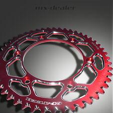 gp-tech Factory pignon roue à chaîne Rouge Suzuki RM RMZ 125 250 450 48 dents