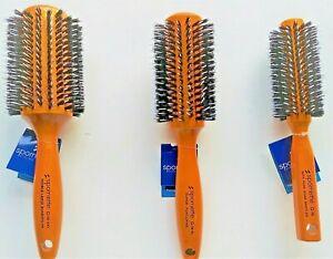 Spornette SPIRAL ROW PORCUPINE Boar Nylon Bristle Hair Brush (G-36)  - FREE SHIP