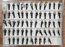 Preiser HO #13256 Air Force Military Band, German Armed Forces, FRG, 61 Figures