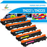 5x Compatible for Brother TN221 Black TN225 Color Toner MFC-9130CW MFC-9330CDW