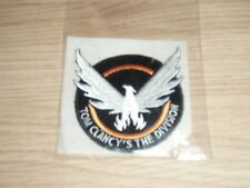 Ecusson Badge Patch VERY RARE Tom Clancy's The Division