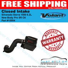 Volant 2019+ Silverado Sierra 1500 6.2L New Body Pro 5R Oil Closed Intake 15954