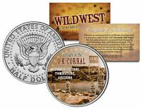 GUNFIGHT at the O.K. CORRAL *Wild West Series* Kennedy Half Dollar US Coin
