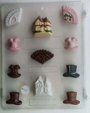 Victorian Chocolate Candy Mold  Cupcake /Cake Decoration