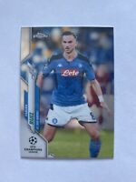 2019-20 Topps Chrome UEFA Champions League Fabian Ruiz SSC Napoli Card #41