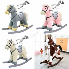 FoxHunter Children's Rocking Horse – Rocker Animal Toy For Kids – Great Gift