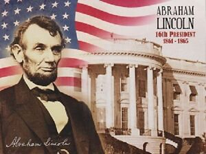 """*Postcard-""""President Abraham Lincoln"""" -16th U.S. President-From 1861-1865"""