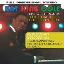NAT KING COLE - LIVE AT THE SANDS: THE COMPLETE LOS  CD NEW+