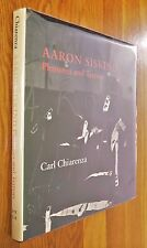 SIGNED - AARON SISKIND - PLEASURES AND TERRORS - 1982 1ST EDITION - FINE COPY
