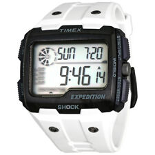 Timex Expedition Digital White Resin Mens Watch TW4B04000JV