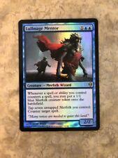 1 x FOIL Lullmage Mentor x1 - Zendikar EX/NM Tribal Merfolk Wizard Deck MTG