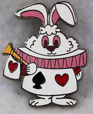 Disney Alice in Wonderland Mary Blair Stylized Mystery White Rabbit Pin