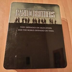 Band Of Brothers steelbook blu-ray. 6-Disc Box Set.