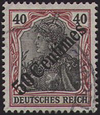 Deutsche Post Türkei Nr. 51 gestempelt geprüft