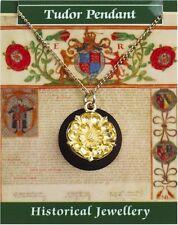 Tudor ROSE COLGANTE-CHAPADO EN ORO