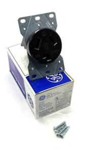 General Electric GE4132-3 Flush Dryer Receptacle 30 A 3 Pole (9 Available)