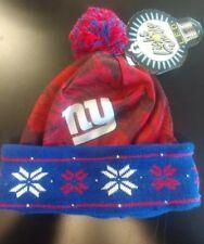 8ddabada1c6 NFL New York Giants Big Logo LED Light Up Beanie Hat Cuff Football NYG