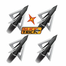 New Slick Trick 100 Grain Vipertrick Broadhead 4 Blade 4 Pack Model# STVT100