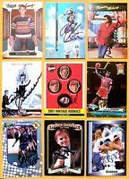 BILL GADSBY 2008 Donruss Sports Legends Hockey SIGNED / AUTOGRAPH Card