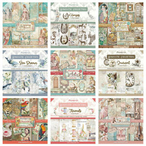Stamperia - 12x12 Paper Pad - INCLUDES NEW JULY 2021 DESIGNS