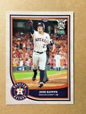 "2018 Topps Big League ""BL"" ~ Jose Altuve Card #104 Houston Astros"