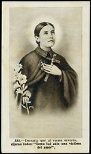 "santino-holy card""S.GEMMA GALGANI 7"