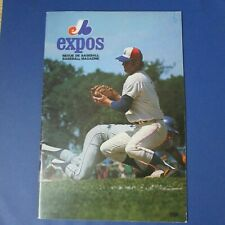 MONTREAL EXPOS 1971  program vol 3 no 3 Ron Fairly Wes Parker cover vs Padres