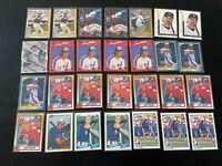 28 Card Larry Walker Lot 1990 Topps Rookies Inserts + More HOF Rockies (Box2)