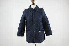 BARBOUR Blue Childrens Liddesdale Jacket size L