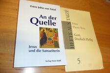 """Taizé Bücher """"An der Quelle"""" Frere John, """"Gott Dreifach Heilig inges. 2 St."""