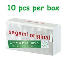 日本相模原創 Sagami Original 0.02 超薄安全套 002 Condom 極薄保險套衛生套避孕袋 Japan Latex-free 10個裝