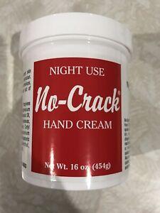 No Crack Hand Cream Hand Lotion NIGHT Use 16 oz VERY LIMITED SUPPLY