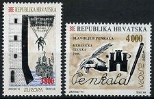 Croatia 1994 SG#274-5 Europa, Inventions MNH Set #D53250