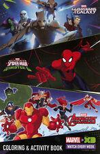 Disney XD promo coloring book RARE UNUSED