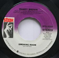 Soul 45 Randy Brown - Smoking Room / If I Had It To Do All Over On Stax Records