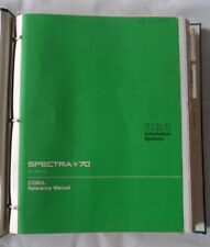 Spectra 70 All Systems COBOL Reference Manual
