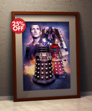 Doctor Who 9th Doctor Who-Christopher Eccleston & Dalek A3 POSTER