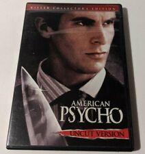 """American Psycho (Dvd, 2005, Uncut, Widescreen) """"A film you shouldn't miss!"""""""