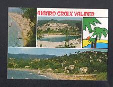 LA CROIX-VALMER (83) PISCINE , VILLAS & PLAGE de GIGARO en 1986