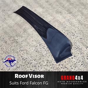 ROOF VISOR FOR FORD FALCON FG XR/G6/G6E/XT/TURBO SEDAN REAR SPOILER SUN GUARD
