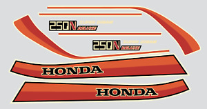 Honda  CB250N Superdream Deluxe Sticker Kit (Red)