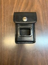 """Triple K Leather Professional Alarm Pouch/Misc. Pouch with 2 1/4"""" Belt Loop"""