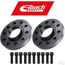 EIBACH Spurplatten 15mm + Schrauben | SCHWARZ | AUDI A3 8P + Sportback + Cabrio