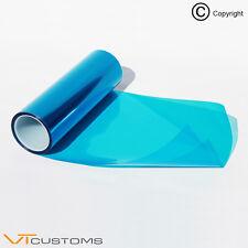 30 x 100 cm MEDIUM BLU faro tinta pellicola nebbia TAIL LIGHT tinteggiatura Automobile In Vinile Avvolgere