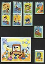 "Bhutan ""World Communications Year"" - Scott #'s 397-407 - Disney Topical - Mnh"